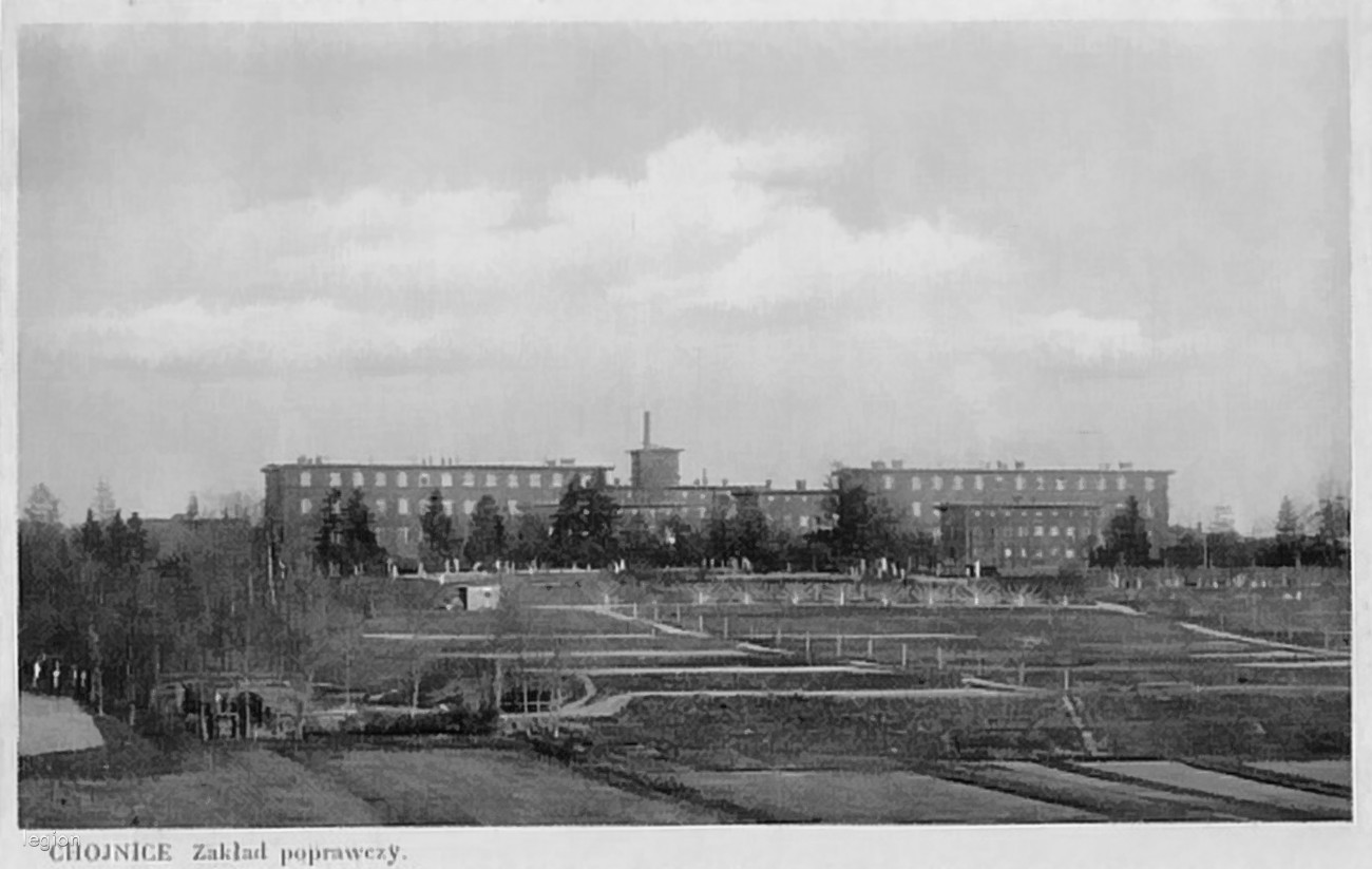 Schronisko Dla Nieletnich Chojnice 1925 Rok Stare Zdjęcia